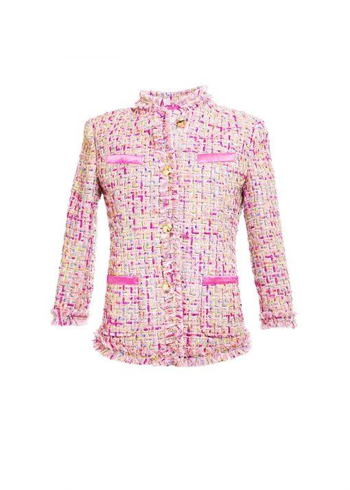 unique classic pink jacket