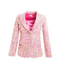 elegant stylish pink jacket