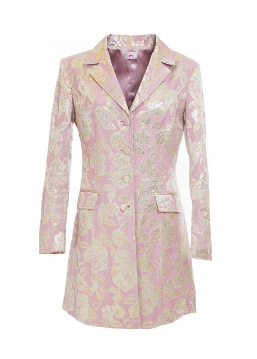unique stylish pink coat