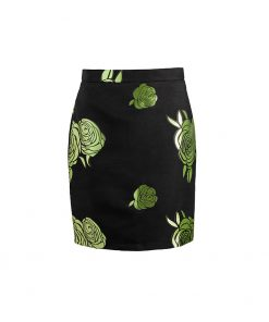 stylish elegant floral skirt