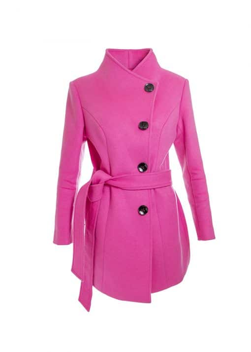 personalised colorful cashmere coat